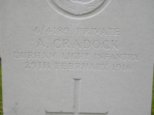 CRADOCK A. Headstone