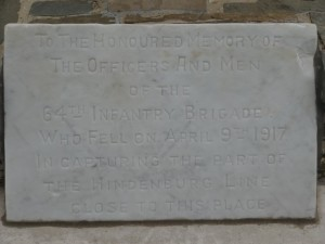 64th Infantry Brigade Memorial Plaque