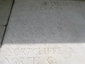 NEWTON T.  Inscription Pozieres Memorial