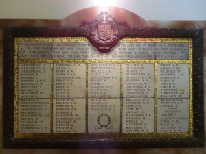 Caille J.A. Roll of Honour