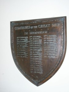 St. Paul's Church  Roll of Honour