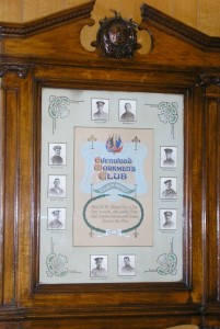 Evenwood WMC  Roll of Honour