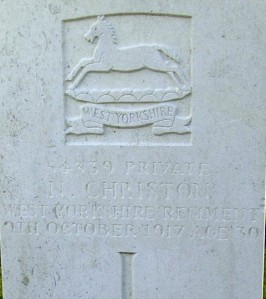 CHRISTON N.  Headstone