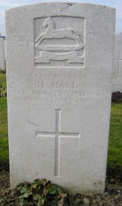 HALL. H.  Headstone