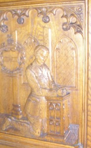 St. Mary's Church  screen in memory of  H.W. Summerson
