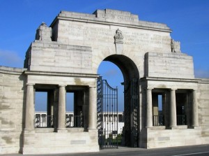 POZIERES CEMETERY MEMORIAL ENTRANCE