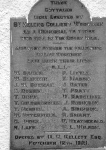 Memorial Cottages Panel 1