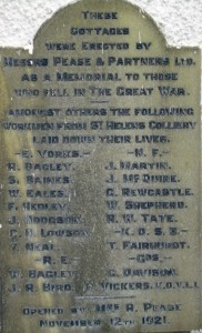 Memorial Cottages  Panel 2