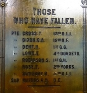 Copley Literary Institute Those Who Have Fallen