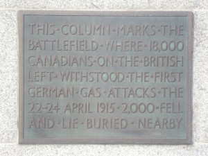 Canadian Memorial  Plaque