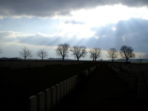 A Cemetery  on the Somme