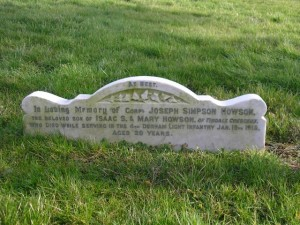 HOWSON J.S. Headstone