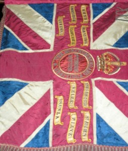 21/NORTHUMBERLAND FUSILIERS COLOURS