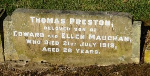 MAUGHAN TP Headstone
