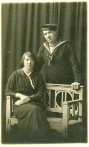 LYNAS Andrew  and  his sister Margaret