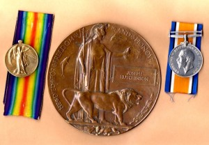 HUTCHINSON J. Medals & Plaque