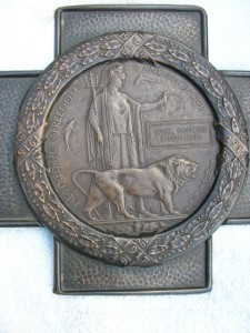 MIDDLEMASS M.G. Memorial Plaque