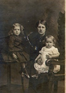 RAINE J.H John's wife & children