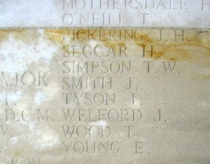 SIMPSON TW Inscription Pozieres Memorial