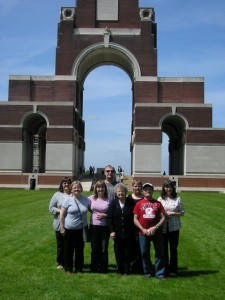 COX G.T. The Bell Family at Thiepval
