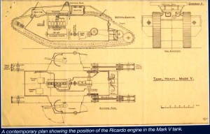 MARK V TANK blueprint