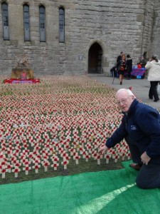 CAENARFON CASTLE: REMEMBRANCE Pte E. Griffiths & Alf Teesdale
