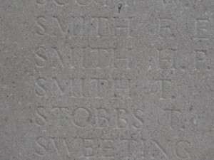 SMITH T.  Inscription