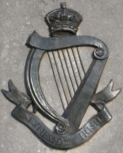 Tyneside Irish Badge