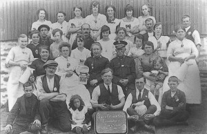 Evenwood  Soup Kitchen Staff 4 July 1921