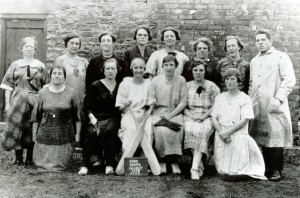 The Oaks Ladies Cricket Team 1926 raising money for the Boot & Shoe Fund